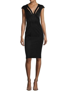 Joni Cap-Sleeve Bodycon Cocktail Dress by Zac Zac Posen in Billions
