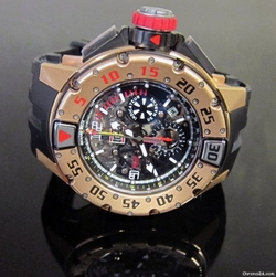 RM032 Scuba Chronograph Watch by Richard Mille in The Expendables 3