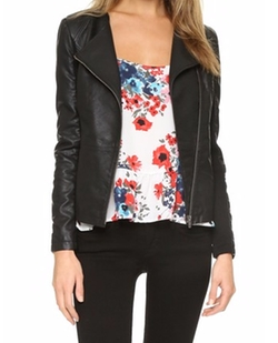 Caitlyn Vegan Leather Jacket by Cupcakes And Cashmere in New Girl