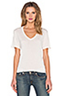 V-Neck Tee by Revolve in The Women