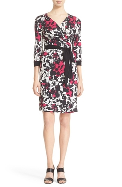 'Julian Two' Floral Print Wrap Dress by Diane von Furstenberg in Jessica Jones
