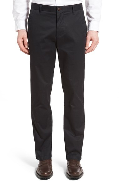 'Bishop' Stretch Cotton Chinos  by Cutter & Buck  in The Accountant