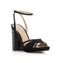 Yoonie Embellished Heel Platform Sandals by Michael Michael Kors in Pitch Perfect 3