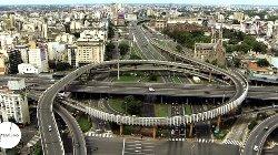 Buenos Aires, Argentina by Bajada Av. 9 De Julio, AU 25 De Mayo in Focus
