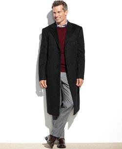 Cashmere Columbia Overcoat by Lauren Ralph Lauren in Shutter Island