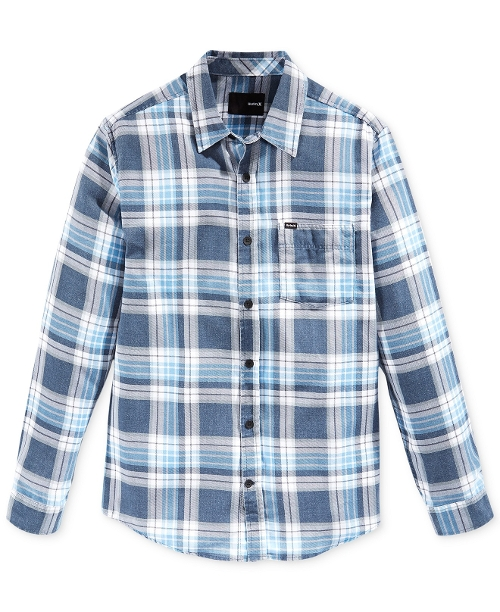 Washed Plaid Shirt by Hurley Cooper in The Best of Me