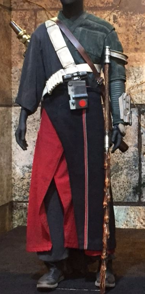 Custom Made Robe by David Crossman	and Glyn Dillon (Costume Designers) in Rogue One: A Star Wars Story