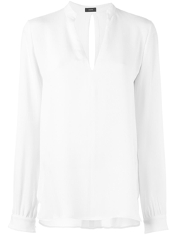 V-Neck Blouse by Joseph in Billions