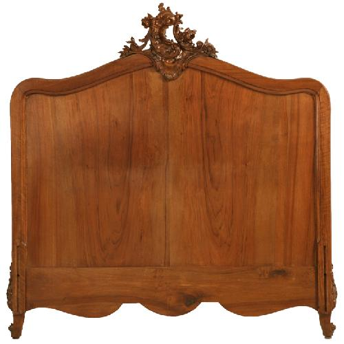 Antique French Rococo/Louis XV Headboard by OLDPLANK.COM in The Great Gatsby