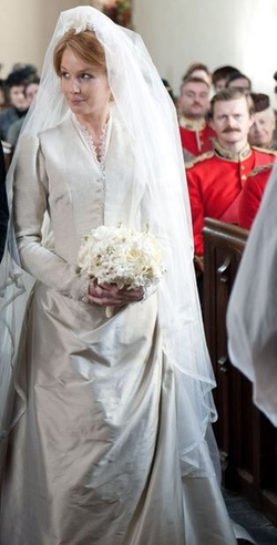 Custom Made Wedding Dress by Jenny Beavan (Costume Designer) in Sherlock Holmes: A Game of Shadows