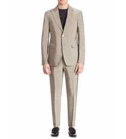 Regular-Fit Two-Button Suit by Versace Collection in The House