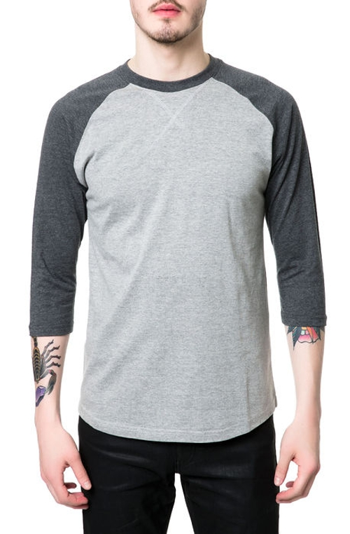 Cotton Jersey Contrast 3/4 Sleeve Shirt by Springfield Classic in Me and Earl and the Dying Girl