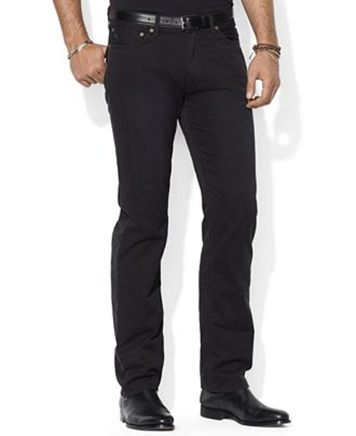 Flat Front Straight-Fit Chino Pants by Polo Ralph Lauren in While We're Young