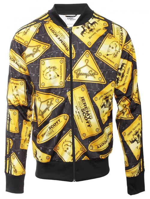 'Plaque' Jacket by Adidas Originals By Jeremy Scott in Kingsman: The Secret Service