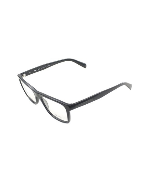 Matte Black Plastic Eyeglasses by Prada in Sex and the City