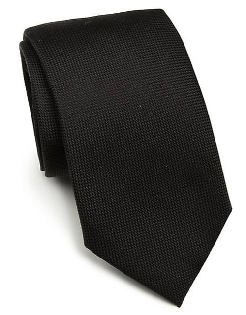 Solid Silk Tie by Saks Fifth Avenue Collection in Life