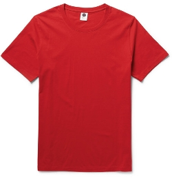 Pima Cotton-Jersey T-Shirt by NN.07 in The D Train
