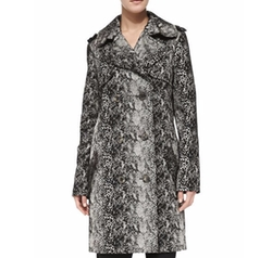 Double-Breasted Snake-Print Trenchcoat by Lanvin in The Good Fight