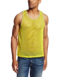 Sammy Mesh Tank Top by Mr Turk in Dope