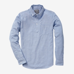 Long Sleeve Pique Polo by Bonobos in New Girl