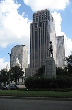 New Orleans, Louisiana by First Bank and Trust Tower in The Loft
