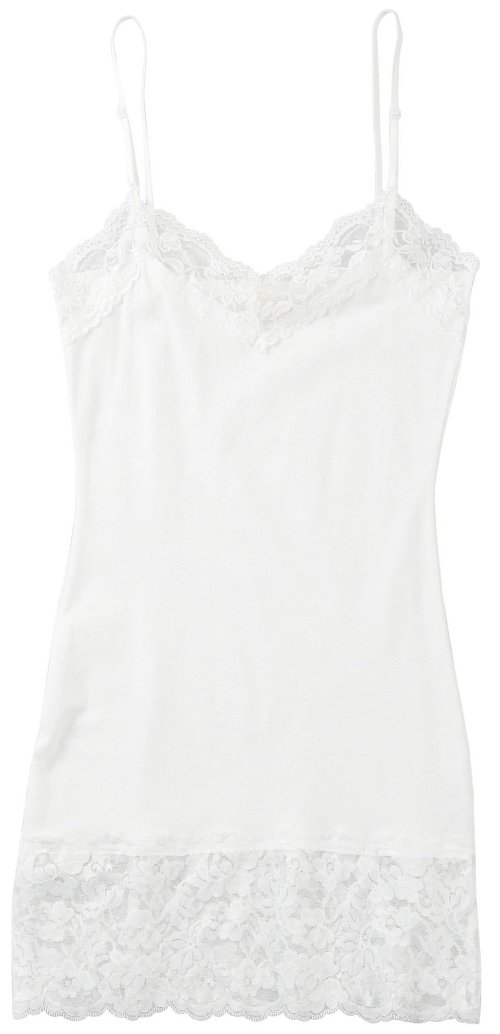 Solid Lace Trim Tank by Zenana in McFarland, USA