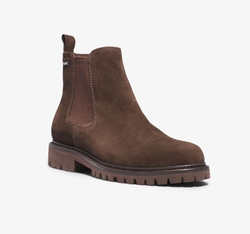 Hudson Suede Boots by Michael Kors Mens in The Ranch