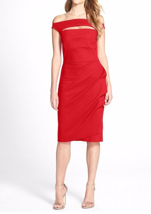 'Melania' Jersey Dress by Chiara Boni La Petite Robe in Conviction - Season 1 Preview