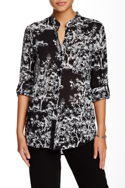 Gilmore Silk Blend Blouse by Diane Von Furstenberg in Chelsea