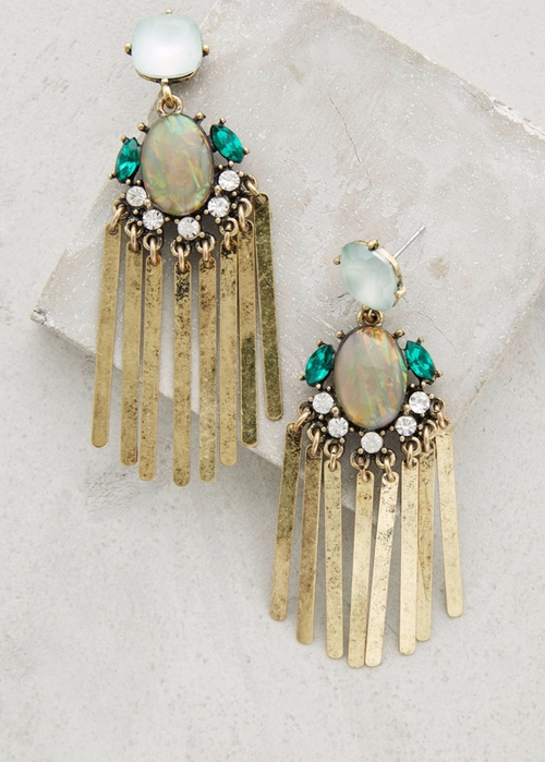 Florian Fringe Earrings by BaubleBar x Anthropologie in Pretty Little Liars - Season 6 Episode 19