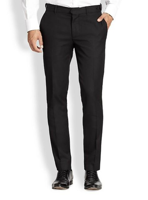 Grant Wool Jacquard Trousers by J. Lindeberg in Ant-Man