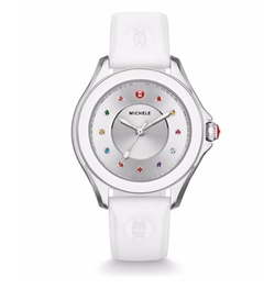 Cape Topaz Watch With Silicone Strap by Michele in House of Cards