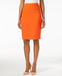 Stretch Crepe Pencil Skirt by Kasper in Lady Dynamite