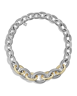 Oval Link Necklace by David Yurman  in Mariah's World