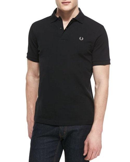 Short-Sleeve Polo Shirt by Fred Perry in Couple's Retreat