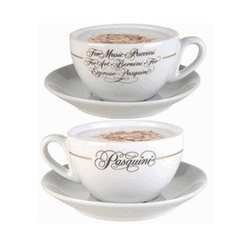 Logo Cup and Saucers by Pasquini in Pretty Little Liars