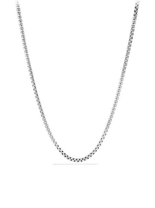 Extra-Large Box Chain Necklace by David Yurman in Begin Again