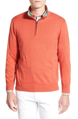 Quarter Zip Sweater by Toscano in Silicon Valley