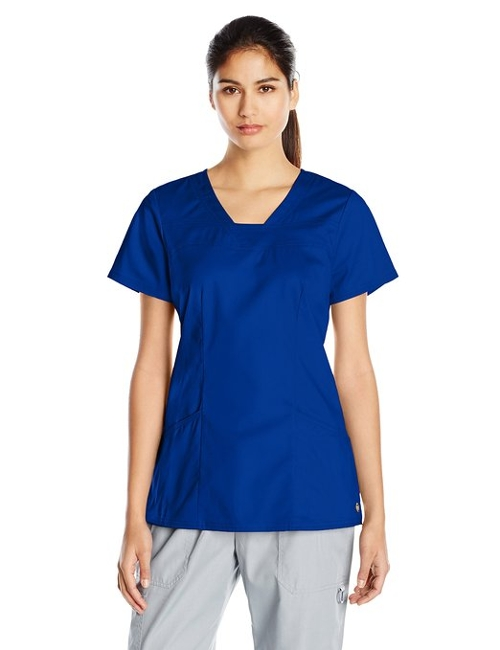 Serenity V-Neck Top by Heartsoul Scrubs in Before I Wake