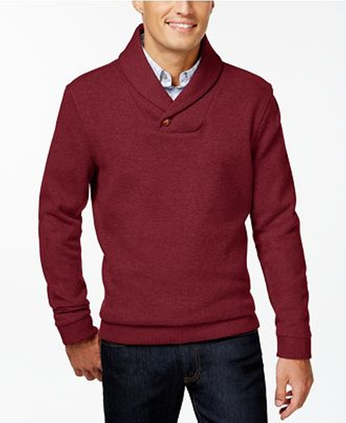 Shawl Collar Sweater by Tasso Elba in Love the Coopers