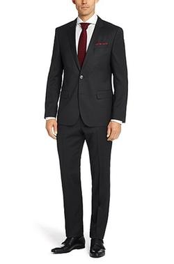 'Hutson/Gander' Slim Fit Virgin Wool Suit by Boss Hugo Boss in Ballers