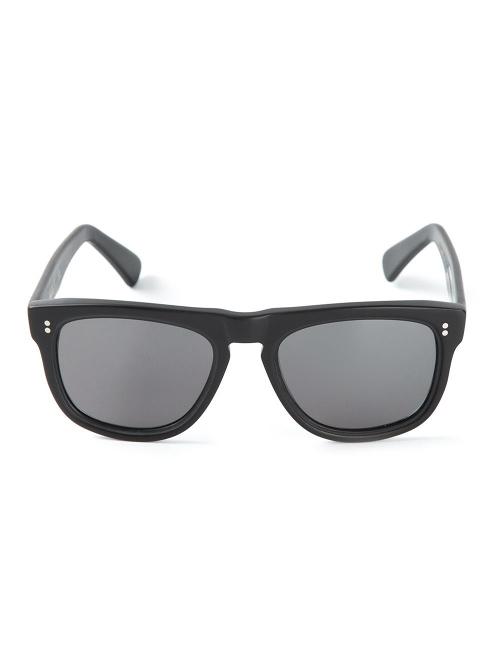 Wayfarer Frame Sunglasses by Cutler & Gross in Self/Less