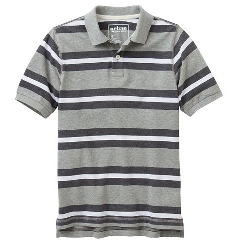 Striped Pique Polo by Urban Pipeline in Boyhood