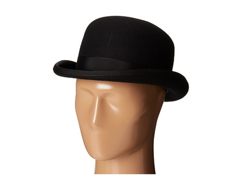 Wool Felt Bowler Hat by Scala in Sherlock Holmes: A Game of Shadows