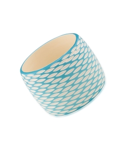Caribbean Cascades Honeycomb Bangle Bracelet by Carolee in Clueless