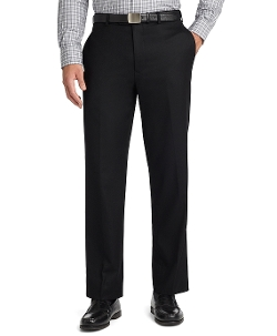 Madison Fit Plain-Front Flannel Trousers by Brooks Brothers in Trainwreck