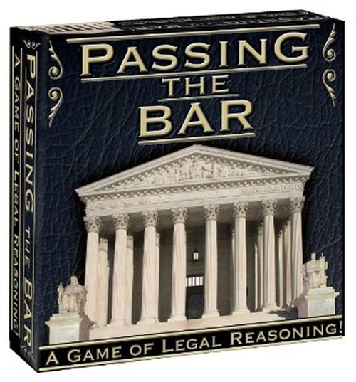 Passing the Bar Board Game by P&R in Crazy, Stupid, Love.