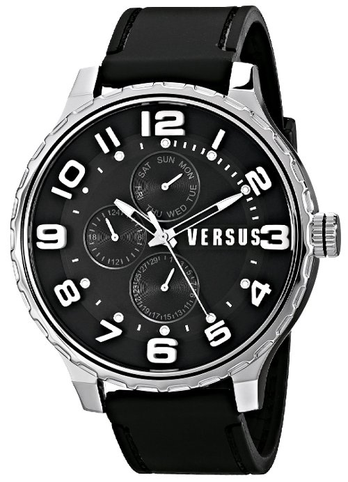 Globe Analog Display Quartz Watch by Versus by Versace in Begin Again
