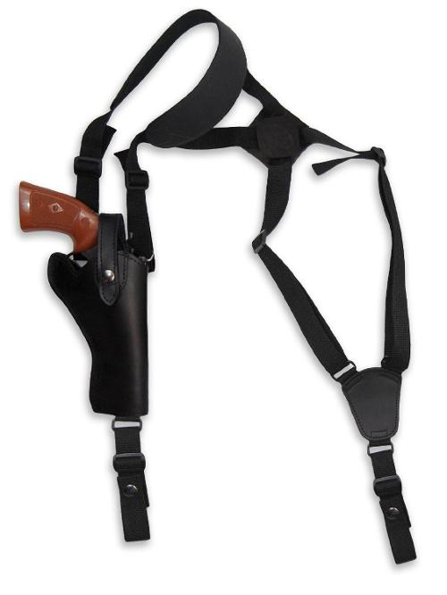 Leather Cross Harness Vertical Shoulder Holster by Barsony Holsters and Belts in Frank Miller's Sin City: A Dame To Kill For