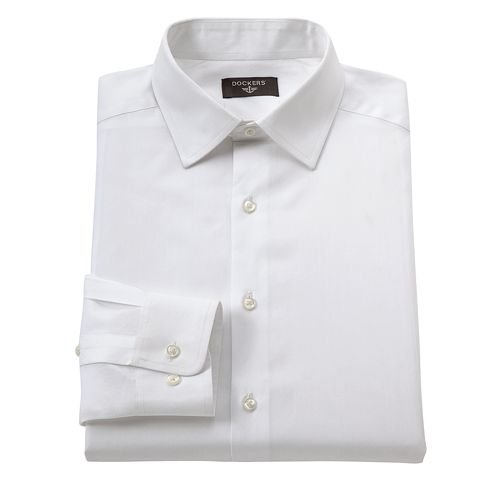 Spread Collar Dress Shirt by Dockers in Taken 3